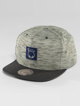 Mitchell & Ness HWC Brushed Melange San Francisco Warriors Snapback Cap Grey/Blue