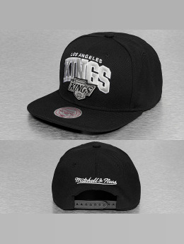 Mitchell & Ness Black Up Team Arch LA Kings Snapback Cap Black