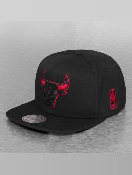 Mitchell & Ness Snapbackkeps  Solid Teams Siren Chicago Bulls svart