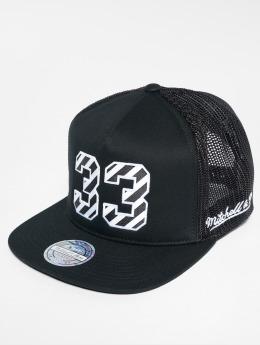 Mitchell & Ness Trucker Caps HWC New York Knicks čern
