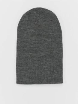 MSTRDS Čiapky Basic Flap Long šedá