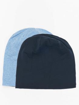 MSTRDS Beanie Jersey Reversible blau