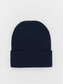 MSTRDS Beanie Basic Flap Long blue