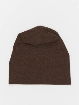 MSTRDS Beanie Heather Jersey braun