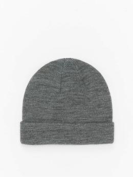 MSTRDS Beanie Short Cuff Knit grigio