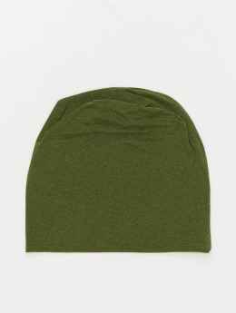 MSTRDS Beanie Heather Jersey grün