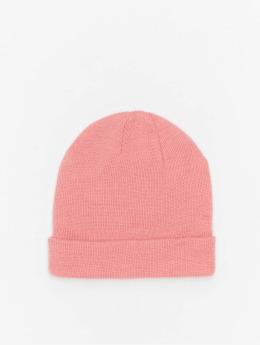MSTRDS Männer,Frauen Beanie Short Pastel Cuff Knit in pink