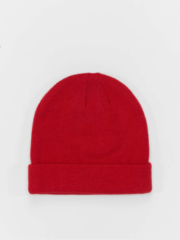 MSTRDS Beanie Short Cuff Knit rot