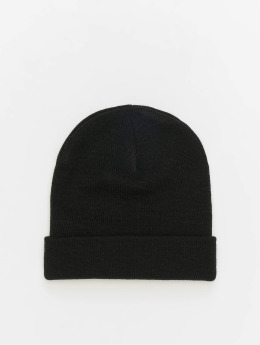 MSTRDS Beanie Basic Flap svart