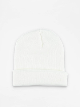 MSTRDS Beanie Basic Flap wit