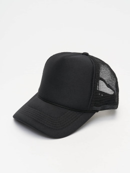 MSTRDS Gorra Trucker High Profile Baseball negro