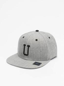 MSTRDS Snapback Cap U Letter gray