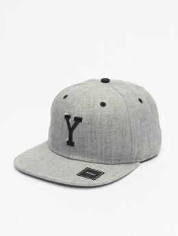 MSTRDS Snapback Cap Y Letter gray