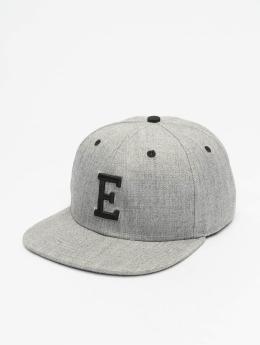 MSTRDS Snapback Cap E Letter  grey