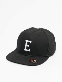 MSTRDS snapback cap E Letter zwart