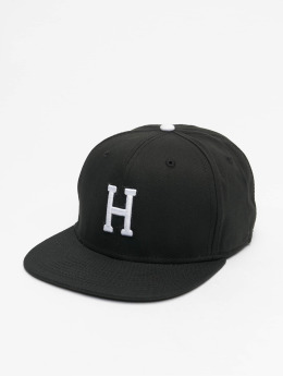 MSTRDS snapback cap H Letter zwart