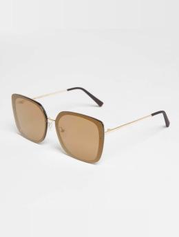 MSTRDS Männer,Frauen Sonnenbrille Dezember in goldfarben