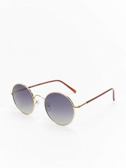 MSTRDS Sunglasses Flower Mirror gold