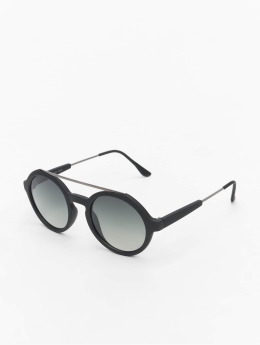 MSTRDS / Zonnebril Retro Space Polarized Mirror in zwart