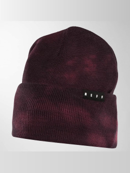 NEFF Beanie Lawrence Washed rood