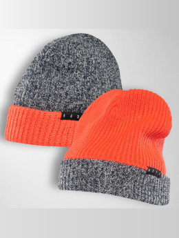 NEFF Beanie Double Heater rot