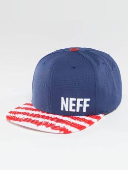 NEFF Casquette Snapback & Strapback Daily Pattern bleu
