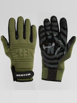 NEFF handschoenen Daily olijfgroen