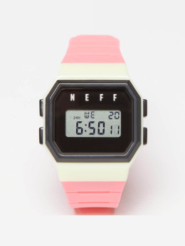 NEFF horloge Flava pink