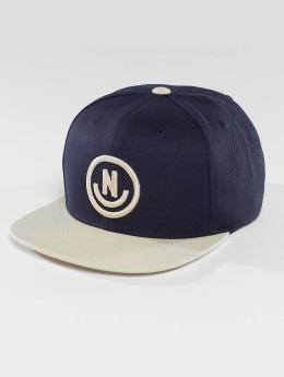 NEFF Snapback Cap Daily Smile blau