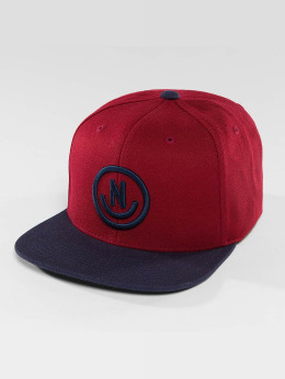 NEFF snapback cap Daily Smile rood