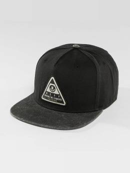 NEFF Snapback Cap X Wash schwarz