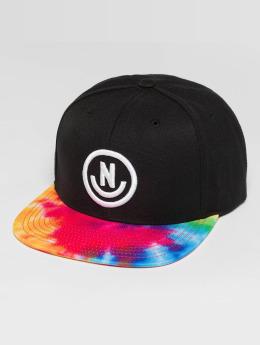 NEFF Snapback Cap Smile Pattern schwarz