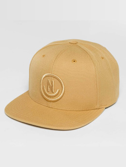 NEFF Daily Smile Snapback Cap Tan