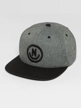 NEFF Snapback Caps Daily Smile harmaa
