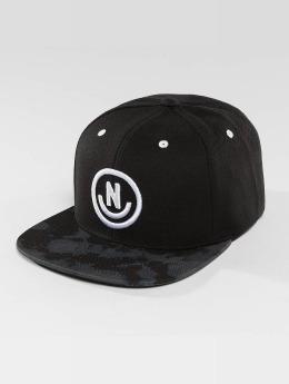NEFF Snapback Caps Daily Smile Pattern musta