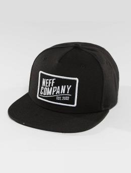 NEFF Snapback Caps Station 2 musta