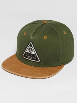 NEFF Snapback Caps X Wash oliivi