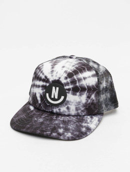 NEFF Smile Wash Trucker Cap Black Wash