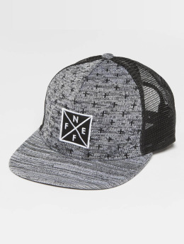 NEFF Tilted Trucker Cap Black/Grey