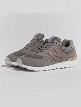 New Balance Baskets WL574FSC gris