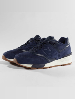New Balance Sneaker ML 597 SKF blau