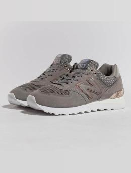New Balance Sneaker WL574FSC grau