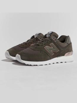 New Balance Sneaker WL574FSD grün