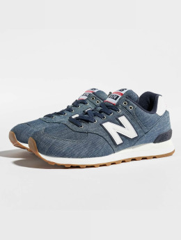 New Balance Sneaker ML574YLE Chambray indaco
