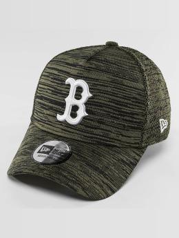 New Era Кепка с застёжкой Engineered Fit Boston Red Sox 9Fifty оливковый