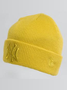 New Era Beanie New Era Essential Waffle Knit NY Yankees Beanie Open Market amarillo