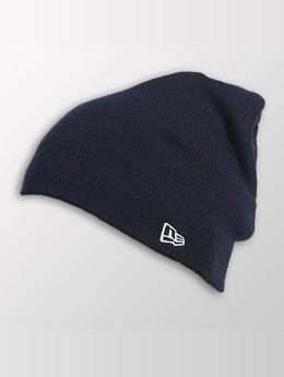 New Era Beanie Seasonal Long Knit blauw