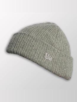 New Era Beanie Wool Mixed Knit grau