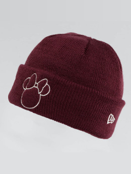 New Era Beanie Disney Silhoutte Minnie Maus rot