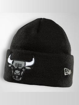 New Era Beanie Reflect Cuff Knit Chicago Bulls svart